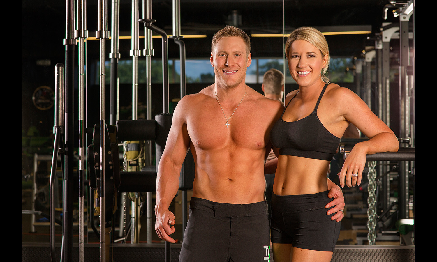 Fitness POrtrait of couple